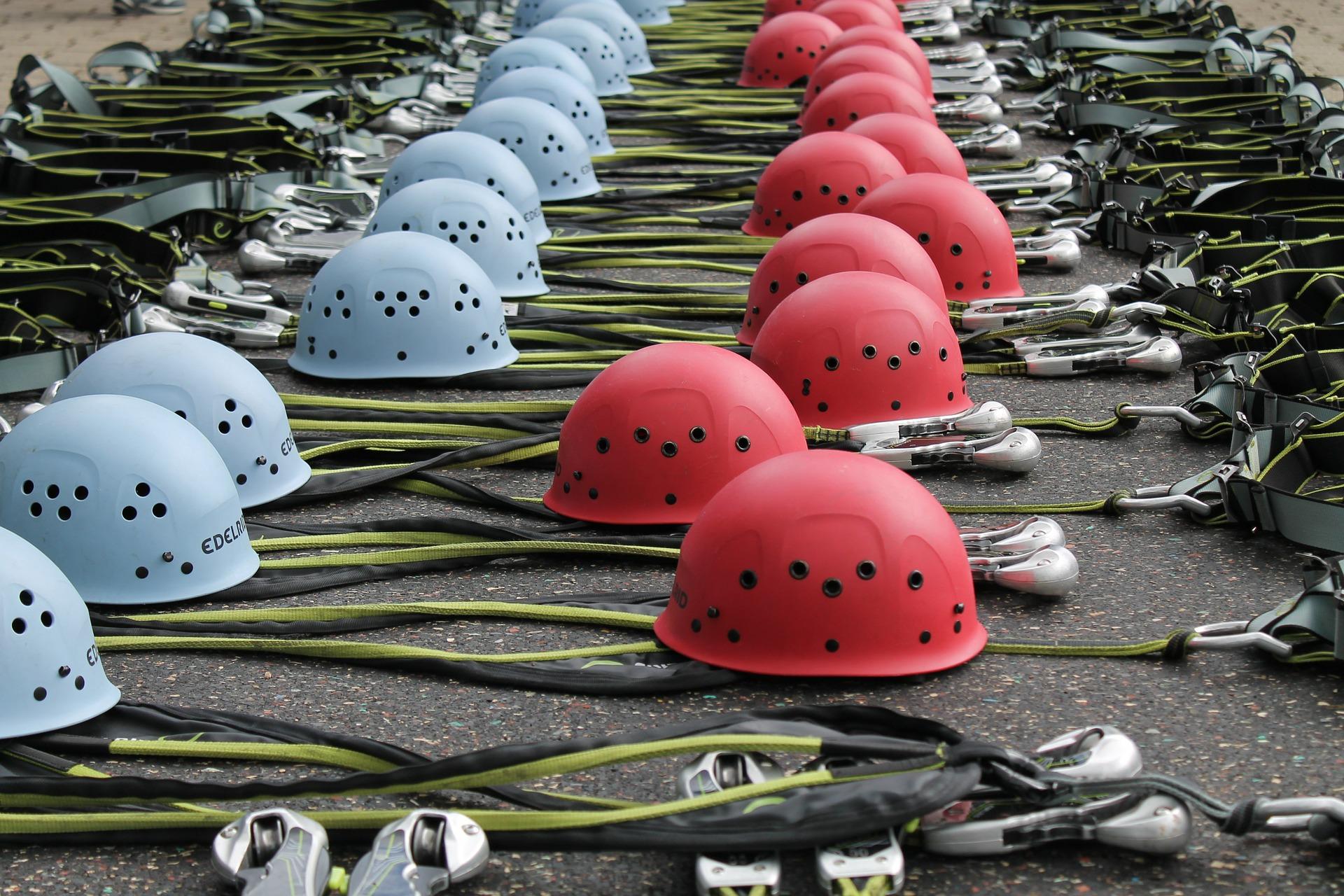 Equipamentos de segurança para funcionário